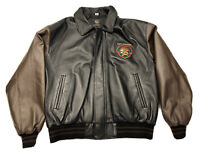 Vintage North American Hunting  Club Life Member Leather Jacket Patches 2XL