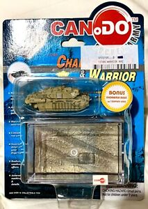 CanDo (Dragon) - Challenger 2 Iraq '03 - 1:144 - Inc Diorama Base & Display Case
