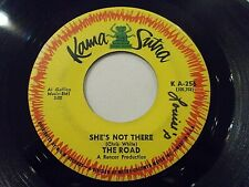 The Road She's Not There / A Bummer 45 Kama Sutra Zombies Vinyl Record