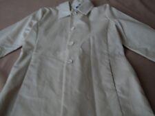 Women size large beige rain coat. ~ GAP ~100% cotton