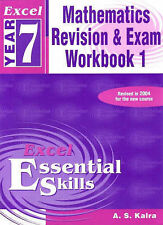 New Year 7 Maths Revision and Exam Workbook by Pascal Press (Paperback, 2004)
