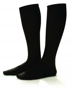 Mens 15-20 mmhg Compression knee Dress Socks Supports Dr Comfort Shape to Fit