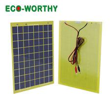 ECO 10W Solar panel 10Watt 12V Portable Garden Fountain laptop Battery Charger