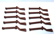 Lego 10 Brown Musket Guns For Minifigures Imperial Soldier Army Castle