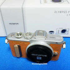 Olympus PEN E-PL8 Only Body(Brown) Self Shot  34 Languages Selectable !