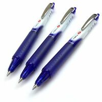 Pilot V Ball Retractable Rollerball Pen - 0.5mm - Blue - Pack of 3