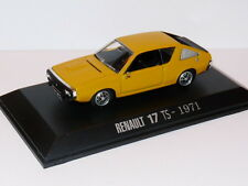 Voiture 1/43 M6 Universal Hobbies / norev  RENAULT 17 TS 1971