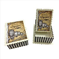 A Haunted Night Decorative Trinket Boxes Set of 2 Boxes