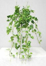 "24"" Pothos Hanging Bush ~ Mini Greenery Silk Wedding Flowers Centerpieces Ivy"