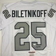 huge selection of 9893d 0797c Fred Biletnikoff NFL Original Autographed Jerseys for sale ...