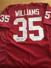 Arizona Cardinals Aeneas Williams Signed jersey HOF inscription W/COA