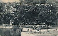 BROOKLYN NY – Prospect Park Scene