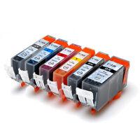 5 INK CARTRIDGE PGI 520 BK CLI 521 B/C/M/Y for CANON MP 620 630 980 PRINTER