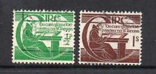L'Irlanda utilizzato 1944 SG133-134 LA MORTE Uovo del Tricentenario dei di Michael o'clery