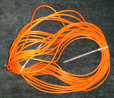22awg/4c Shielded Stranded Wire Cable - 30ft Orange