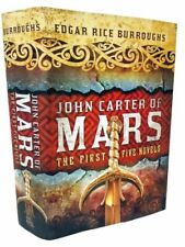 John Carter of Mars by Edgar Rice Burroughs Hardcover 1st Five Novels