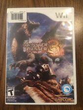 Monster Hunter Tri (Nintendo Wii, 2010)
