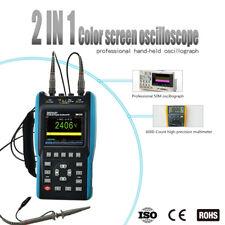 Handheld LCD Digital Scopemeter Oscilloscope Multimeter 25MHz 100Msa/S 2 Channel