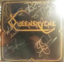 Queensryche Signed Ep full original band signed during Operation Mindcrime tour