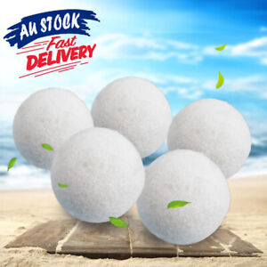100% Zealand Wool Dryer Balls Drying Fabric Softner Clothes Wrinkles Reduce