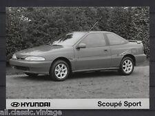 PRESS - FOTO/PHOTO/PICTURE - Hyundai Scoupe Sport