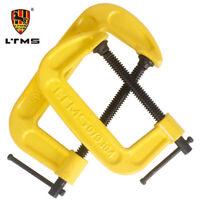 "LTMS G C Klemmen 2"" 51mm 3"" 76mm 4"" 100mm 5"" 127mm Schraubzwingen Zwinge Metal"