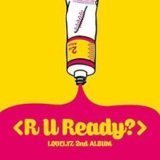 LOVELYZ-VOL.2 (R U READY)  (UK IMPORT)  CD NEW