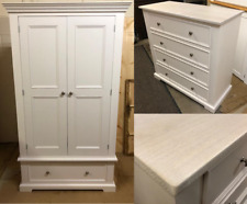SALE- CHILDRENS PAINTED BEDROOM SET- RRP £1,094- F&B STRONG WHITE- PINE & OAK
