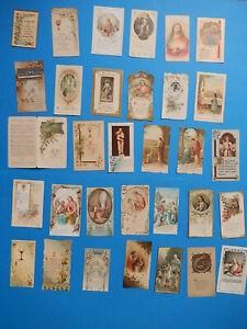 JOB  lot 32  HOLY CARD JESUS MARY OUR LADY Communion  1907 1951 VTUSA