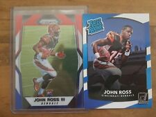JOHN ROSS 2017 ROOKIE CARD LOT 2 CARD LOT