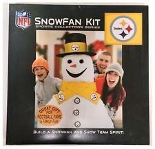 Pittsburgh Steelers NFL American Football Christmas Build A Snowman Kit