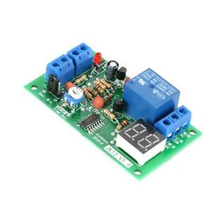 DC 12V Timing Timer Delay Turn OFF Relay Switch Module LED Display Countdown USA