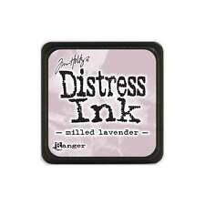 Tim Holtz Mini Distress Ink Pad Milled Lavender Purple, Lilac, Violet, Pink