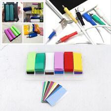 360 un. 12 Colores Tipo Calor Shrink Tubo 18650 kit de envoltura de Batería con caja