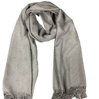 Cashmere Women Fashion Big Size Cashmere Scarf with Embossing Texture Warm Scarf