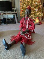 â� African Kenya 1991 Daddy's Long legs Realistic Lady Doll Babe Bouchard Vintage