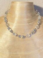 Art Deco Czech Crystal Rhinestone Choker Necklace Collar Flapper