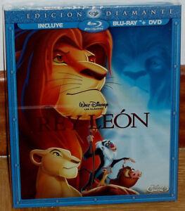 EL REY LEON EDICION DIAMANTE BLU-RAY+DVD DISNEY SLIPCOVER NUEVO (SIN ABRIR) R2