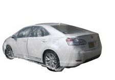 Clear Plastic Car Cover 12.5X22 ft for full-size car (USA Seller)