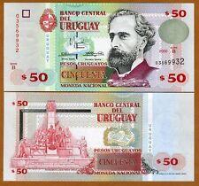 Uruguay, 50 Pesos Uruguayos, 2000, P-75, B-Serie, UNC