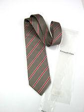 Luxury ERMENEGILDO ZEGNA NUOVA NEW 100% Seta Silk ORIGINALE b665dd89f16