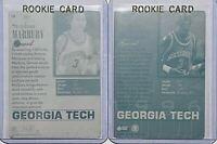 LOT 1/1 STEPHON MARBURY RC 1996 SB PRINTING PLATES CARD #3 GEORGIA TECH ROOKIE