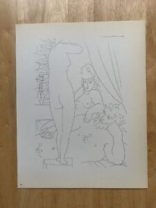 Original Pablo Picasso Lithograph from 1956 First Edition Suite Vollard - 50/100