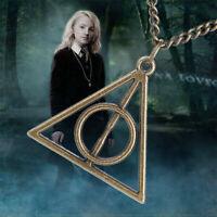 Harry Potter Dreieck The Deathly Hallows Anhänger Halskette Schmuck Geschenk