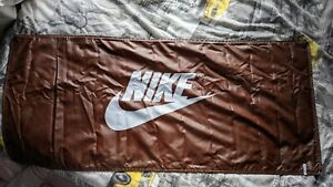 Nike Sign print canvases poster rusted brown effects/ one off sample