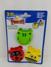 Kitchen Gadgets CHIP Clip BAG CLIPS, 3-PACK Ladybug, Frog and  Bumblebee