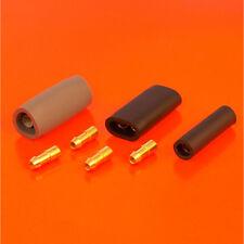 Quality 2 4 6 Way Single Double Triple 4.7mm Lucas Style Brass Bullet Connectors