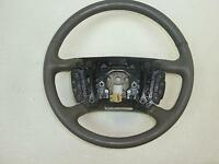 07 BUICK LUCERNE Driver Leather Steering Wheel Grey Cruise Radio controls Heated
