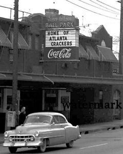 1950's Atlanta Crackers Baseball Ponce de Leon Park 8 X 10 Photo Picture