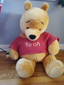 Extra Large Winnie the Pooh Plush Doll Disney Store Bee Embroidered 3 Ft Long!
